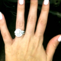 No I'm not engaged!!! lol But what a sweet R…